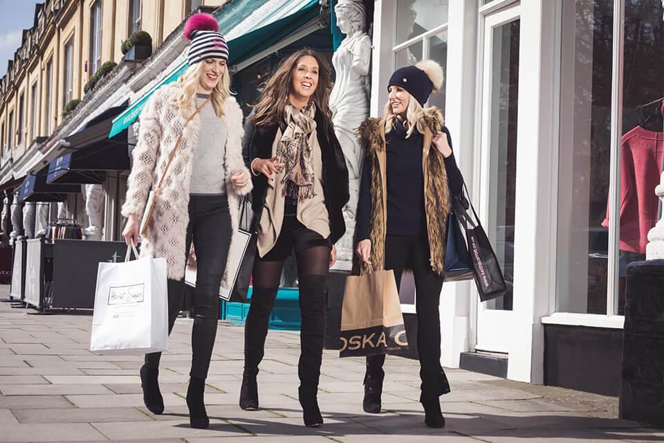 Independent shopping Cheltenham